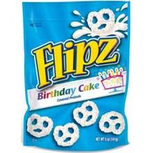 Birthday Cake Coated Pretzel