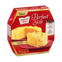 Perfect Size Lemon Bliss Cake Mix and Frosting Mix