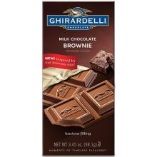 Milk Chocolate Brownie Bar