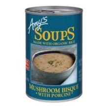 Mushroom Bisque with Porcini