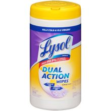 Citrus Scent Dual Action Disinfectant Wipes