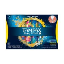 Compact Plastic Regular Absorbency Unscented Tampon