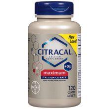 Maximum Calcium Citrate Calcium Supplement Coated Tablets