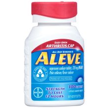 All Day Strong Arthritis Cap Naproxen Sodium 220mg Pain Reliever Fever Reducer Caplets