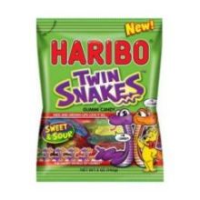 Twin Snakes Sweet and Sour Gummy Candy