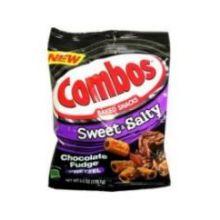 Sweet Salty Chocolate Fudge Pretzel Baked Snacks