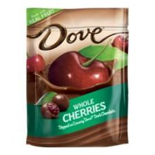 Silky Smooth Dark Chocolate with Whole Cherries