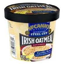 Vanilla Honey Instant Oatmeal