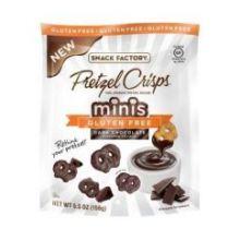 Minis Gluten Free Dark Chocolate Flavored Crunch Pretzel Crisps