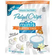 Gluten Free Vanilla Yogurt Minis Pretzels Crisps