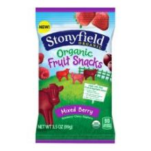 Organic Mixed Berry Fruit Snacks