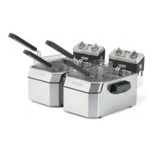 Double Deep Fryer with Six Basket
