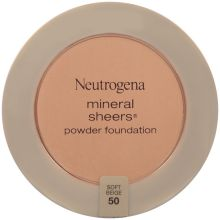 Mineral Sheers Soft Beige Compact Powder Foundation