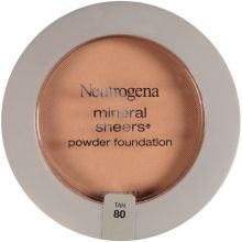 Mineral Sheers Tan Compact Powder Foundation