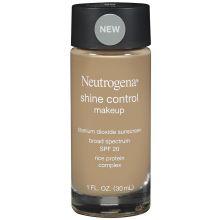 Shine Control Warm Beige Shade Liquid Makeup