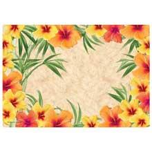 Hibiscus Paper Placemat