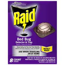 Bed Bug Detector and Trap