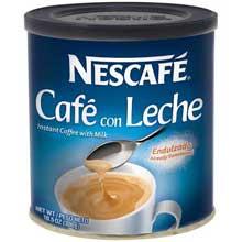 Cafe Con Leche Instant Coffee