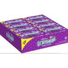 Grapehead The Original Grape Candy