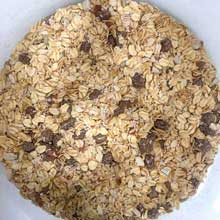 Hot and Fit Superfood Blueberry Chia Breakfast Oatmeal Cereal