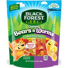 Gummy Bears and Worms Doy Pack