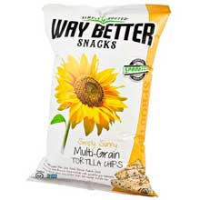 Simply Sunny Multi Grain Tortilla Chips