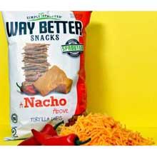 A Nacho Above Tortilla Chips