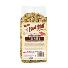 Apple Strawberry Granola