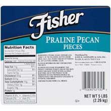 Medium Praline Pecan Pieces