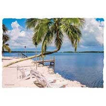 Gulf View Paper Placemat