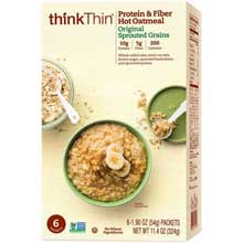 Original Sprouted Grains Protein and Fiber Hot Oatmeal