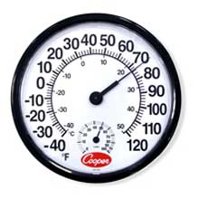 Indoor Outdoor Wall Thermometer
