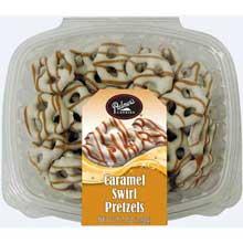 Caramel Swirl Pretzel Candies