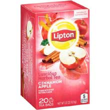 Apple Cinnamon Herbal Tea Bag