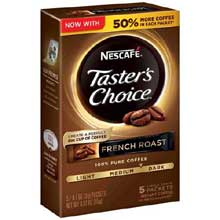 Tasters Choice French Roast Instant Coffee