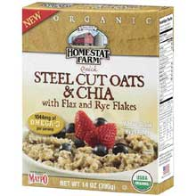 Organic Steel Cut Oats and Chia