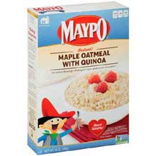 Maple Instant Oatmeal with Quinoa