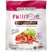 Apple Strawberry Fruit Sticks Pretzel Crisps