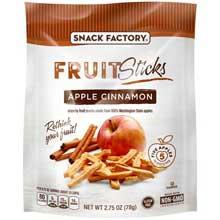 Apple Cinnamon Fruit Sticks Pretzel Crisps