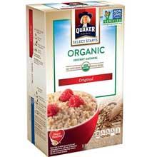 Organic Regular Instant Oatmeal