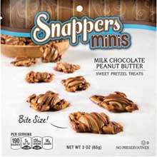 Minis Milk Chocolate Peanut Butter Sweet Pretzel Treats