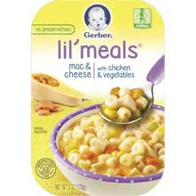Lil Meals Mac Cheese Chicken Vegetable