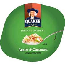 Apple Cinnamon Instant Oatmeal Express Cup