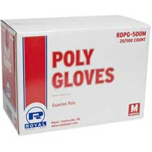 Disposable Poly Medium Glove