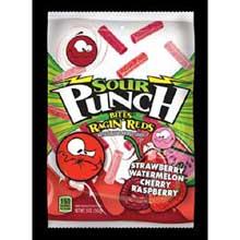 Ragin Reds Bites Candy