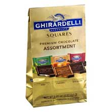 Assorted Premium Chocolate Squares