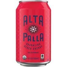 Organic Black Cherry Sparkling Beverage