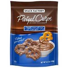 Milk Chocolate Crunch Pretzel Crisps