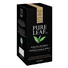Pure Leaf Hot Tea Bags Black Tea with Vanilla 25 ct, Pack of 6