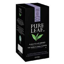 Pure Leaf Hot Tea Bags Black Tea with Berries 25 ct, Pack of 6